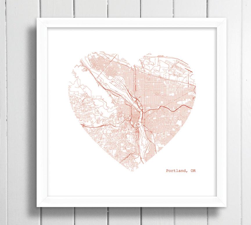 portland heart framed.jpg
