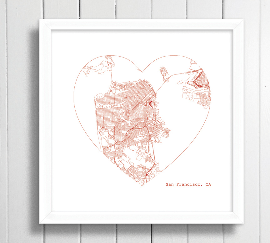 san fran heart framed.jpg