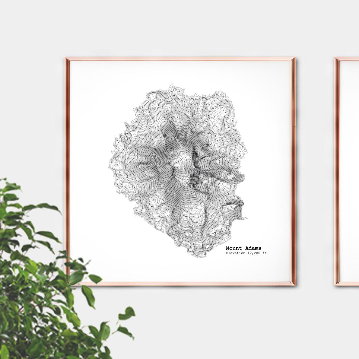 mt adams framed 3.jpg
