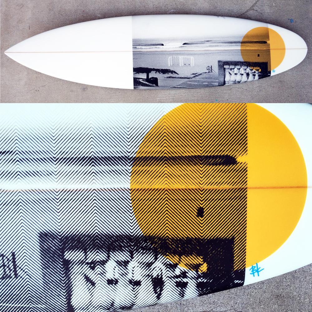 Marine Ave Surfboard
