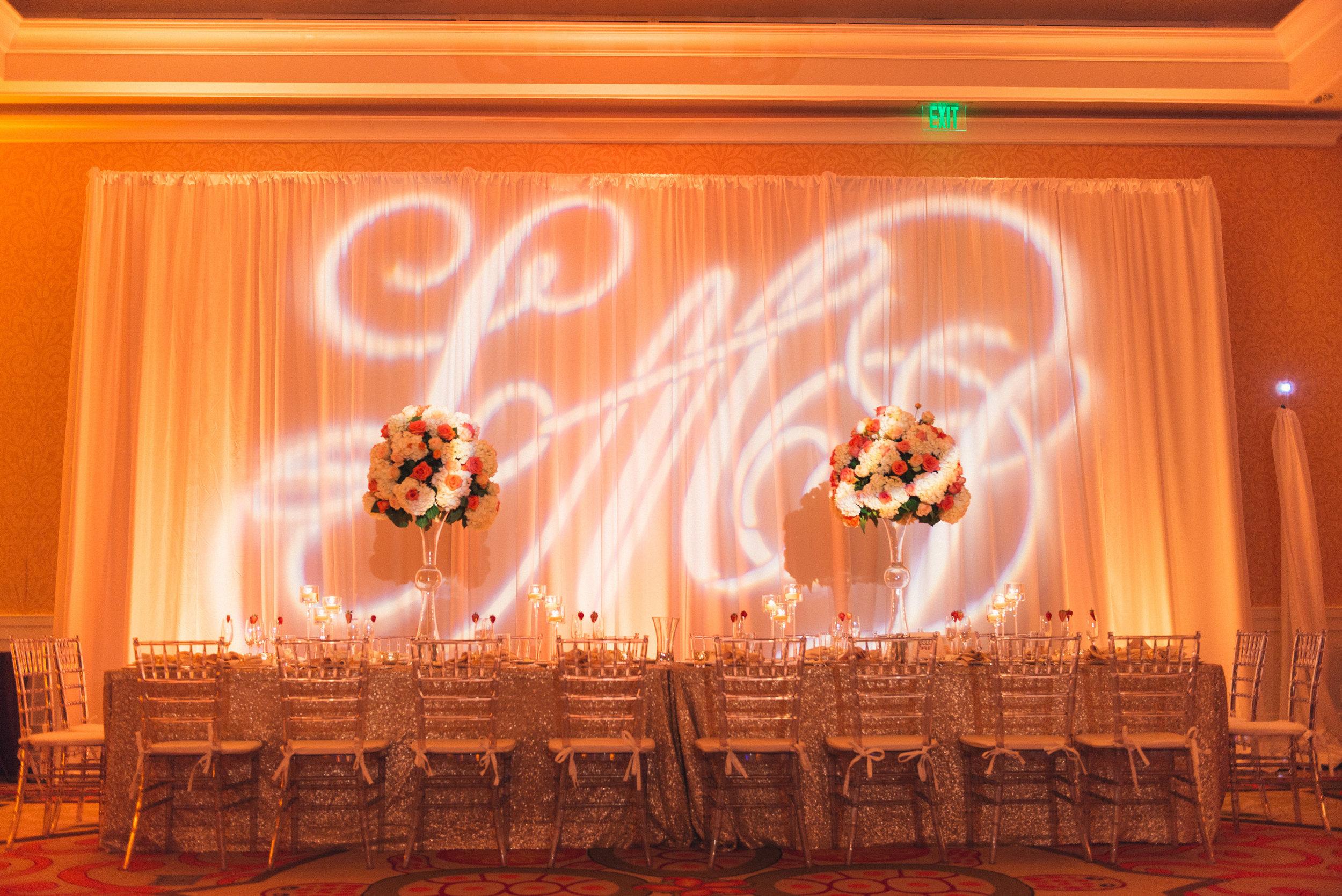 Sandpearl Resort Coral wedding Flowers