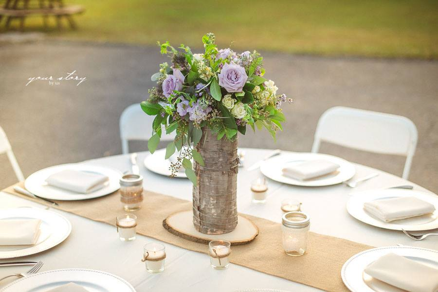 Rustic wedding Lange Farm