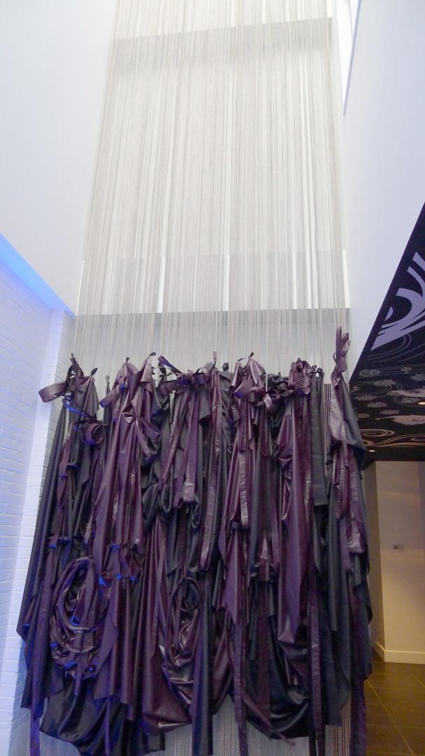 lobby curtain