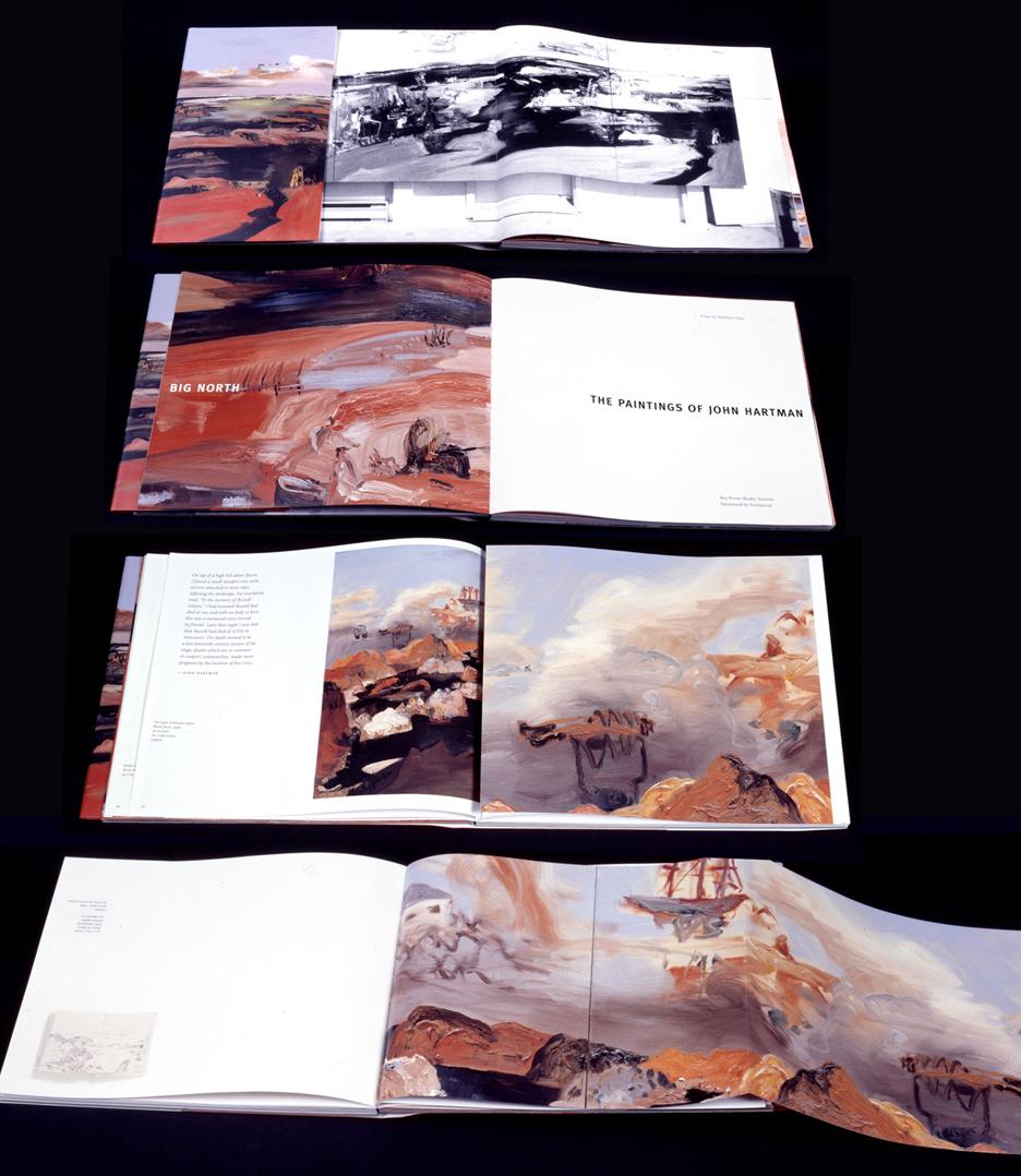 big north: paintings of john hartman