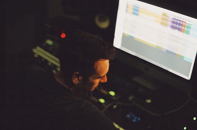 Beautiful shot in the studio! Faders up! 🎚 🎚 🎚 📸:@ashleyrgoodrich