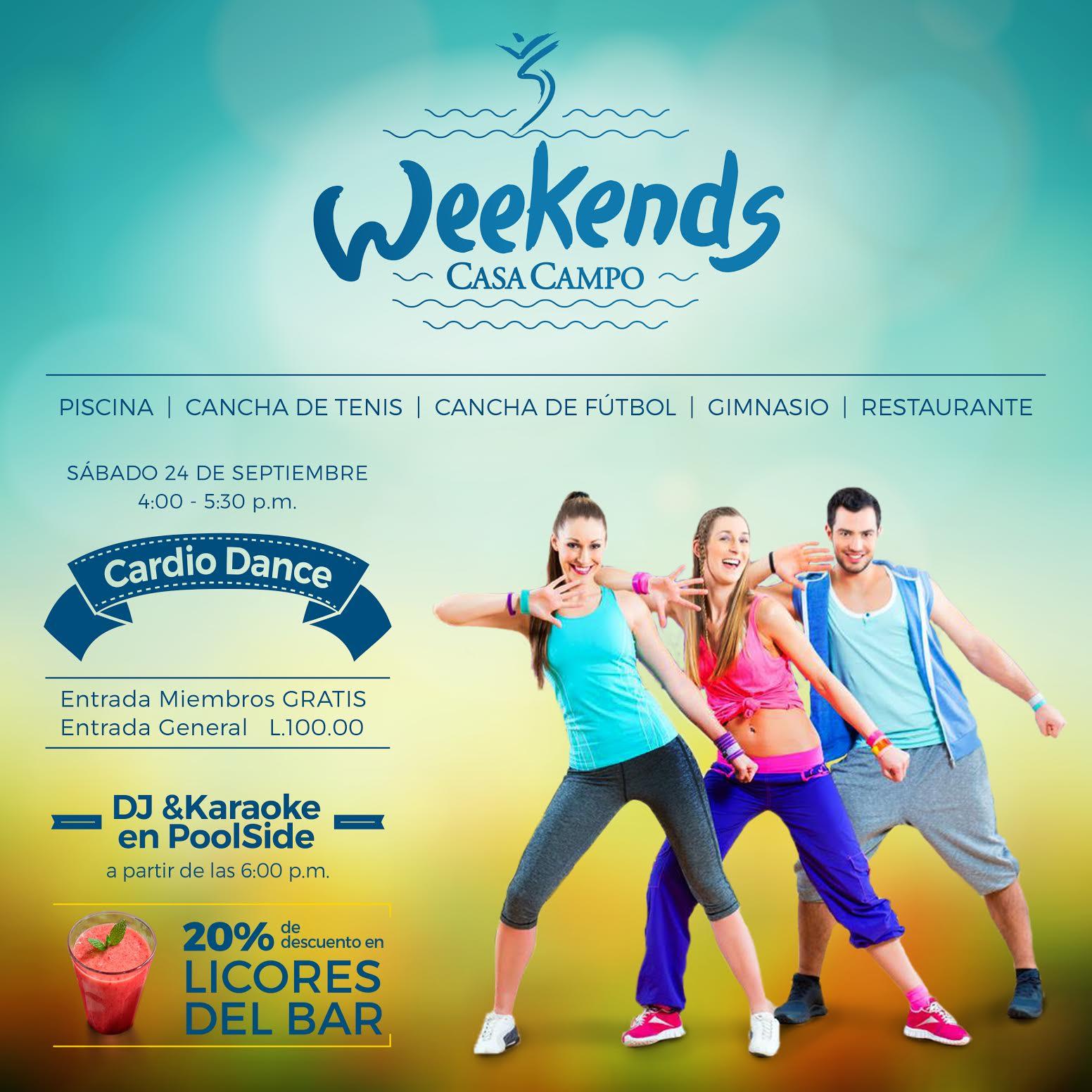 Cardio Dance Casa Campo