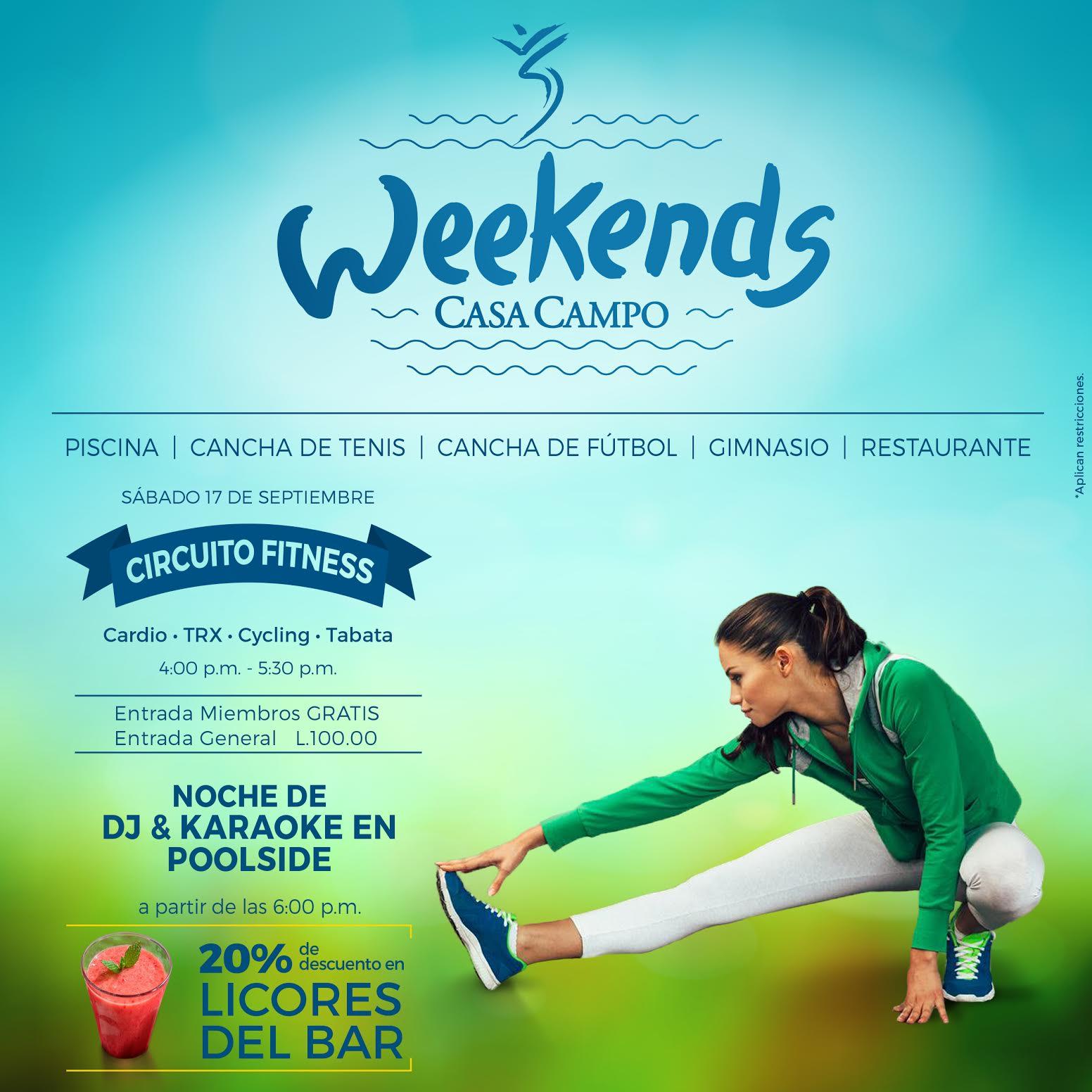 Circuito Fitness Casa Campo