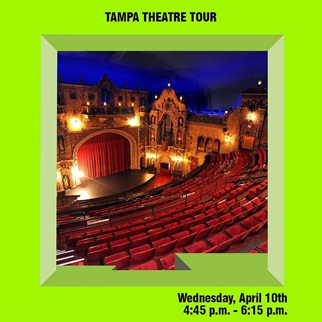 Love the @tampatheatre? We do to! Join us on Wednesday, April 10th for tour about the art, history, and architecture within this Tampa architectural icon.  After the tour there will be a FREE screening of the documentary, Objectified, which explores the relationship between industrial manufacturing, design, and the iconic objects they inspire  Register now at https://aitb.memberclicks.net/19tbdw#/ #tampa #tampabay #tampaarts #tampatheatre #tampatheater #tampabayarts #tampaart #tours #tampatours #cityoftampa #hillsborougharts #813 #tbdw #designweek #visittampabay #downtowntampa #hiddentampa #achitecture #tamparchitecture #florida #tampadesign #exploretampa #architectureanddesign #design #film #objectified