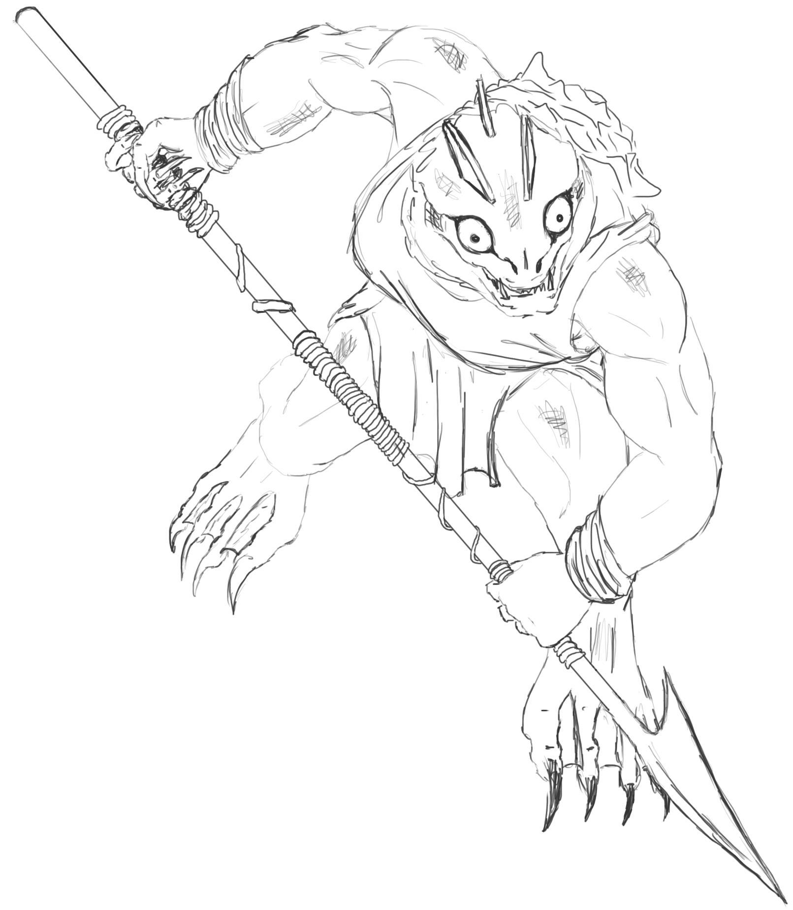 Kuo-Toa Spear Warrior1.jpg