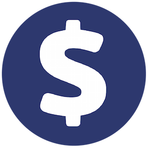 Packages and Pricing Dollar Sign Icon