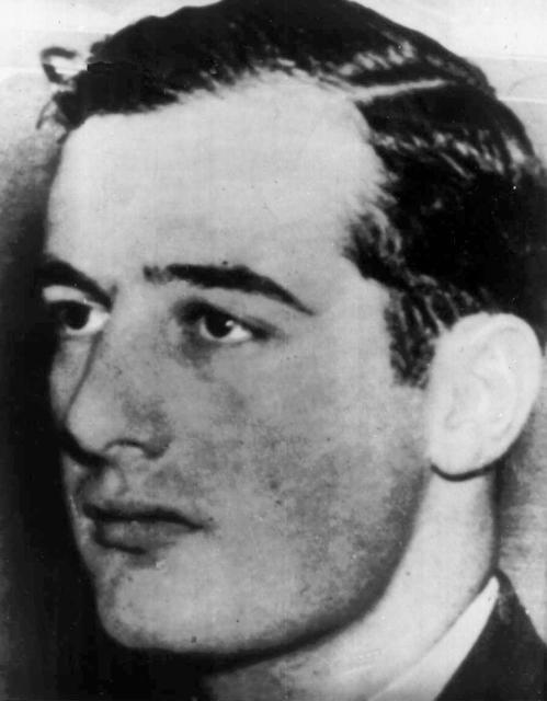 World War II hero Raoul Wallenberg in an this undated file photo