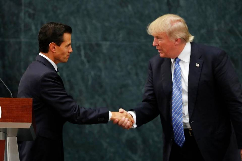 Mexico's President Enrique Peña Nieto and presidential candidate Donald Trump met in Mexico City in August in a surprise visit. There are any number of early Trump supporters in other countries who could be rewarded and elevated by a presidential visit.  Dario Lopez-Mills    The Associated Press