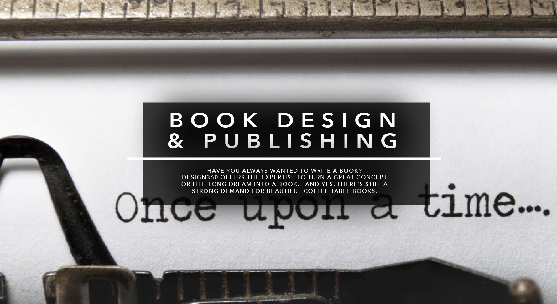 Book Design and Publishing