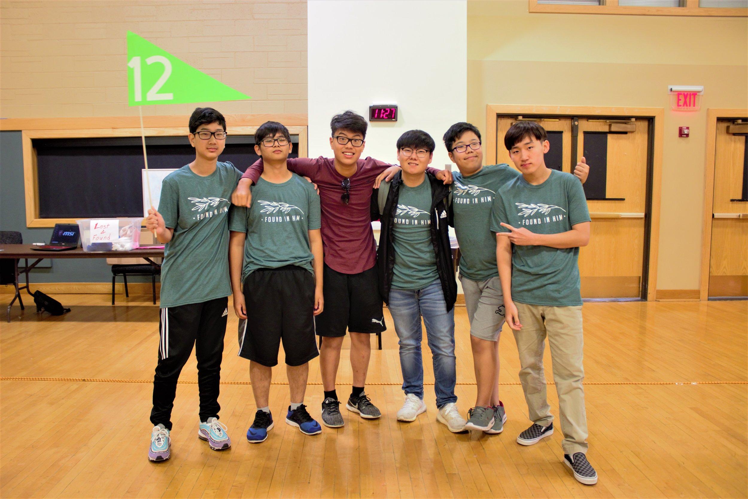 Small Group Twelve!
