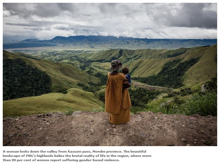 'Crying Meri: Violence against women in Papua New Guinea'. Photography project by Vlad Sokhin