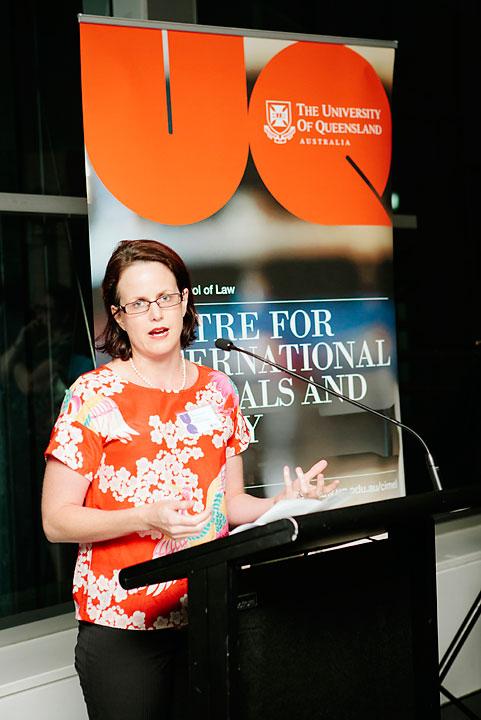 UQ Associate Lecturer Kate Curnow