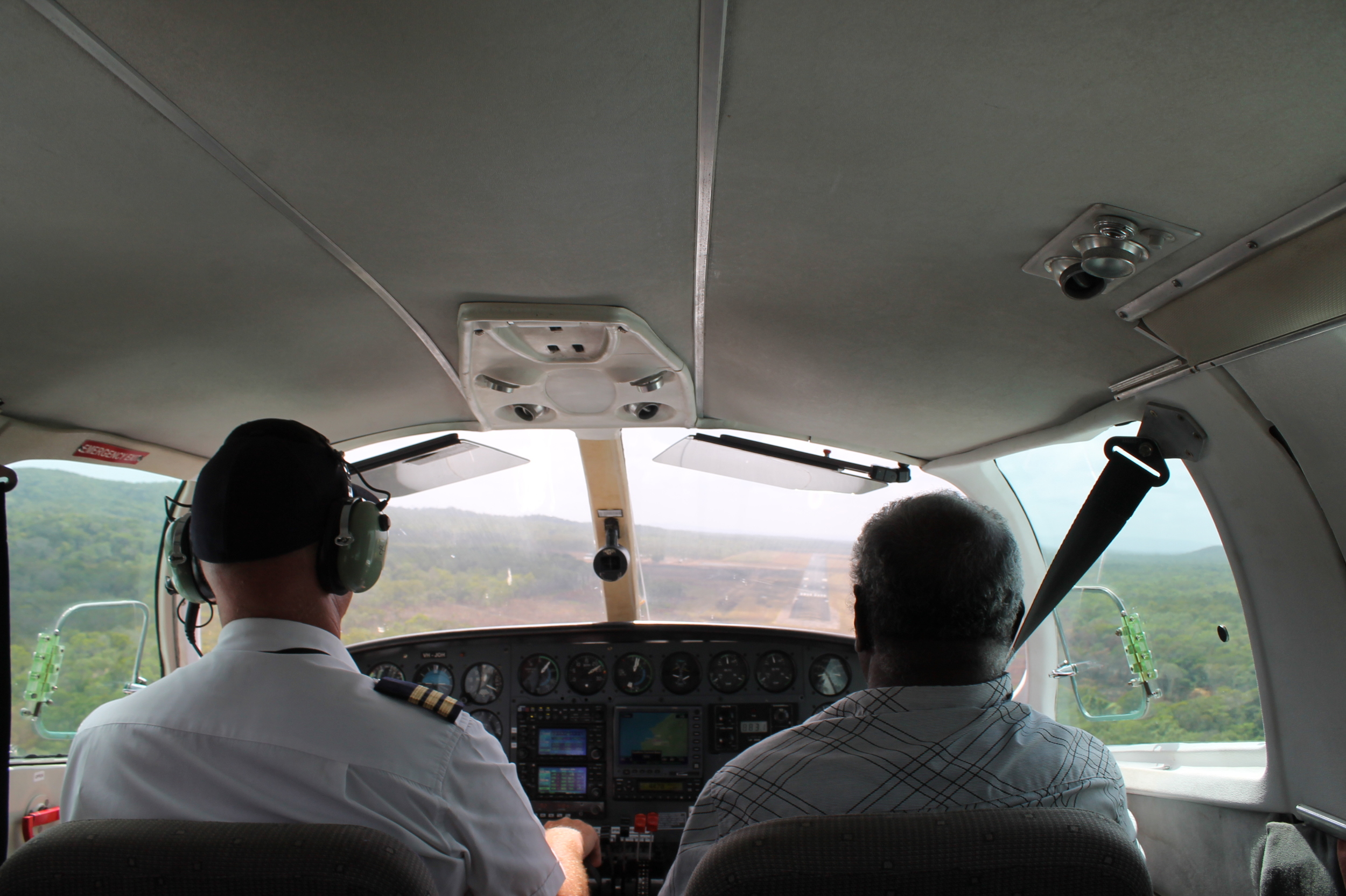 Lockhart River on country trip, via eight-seater plane charter flight