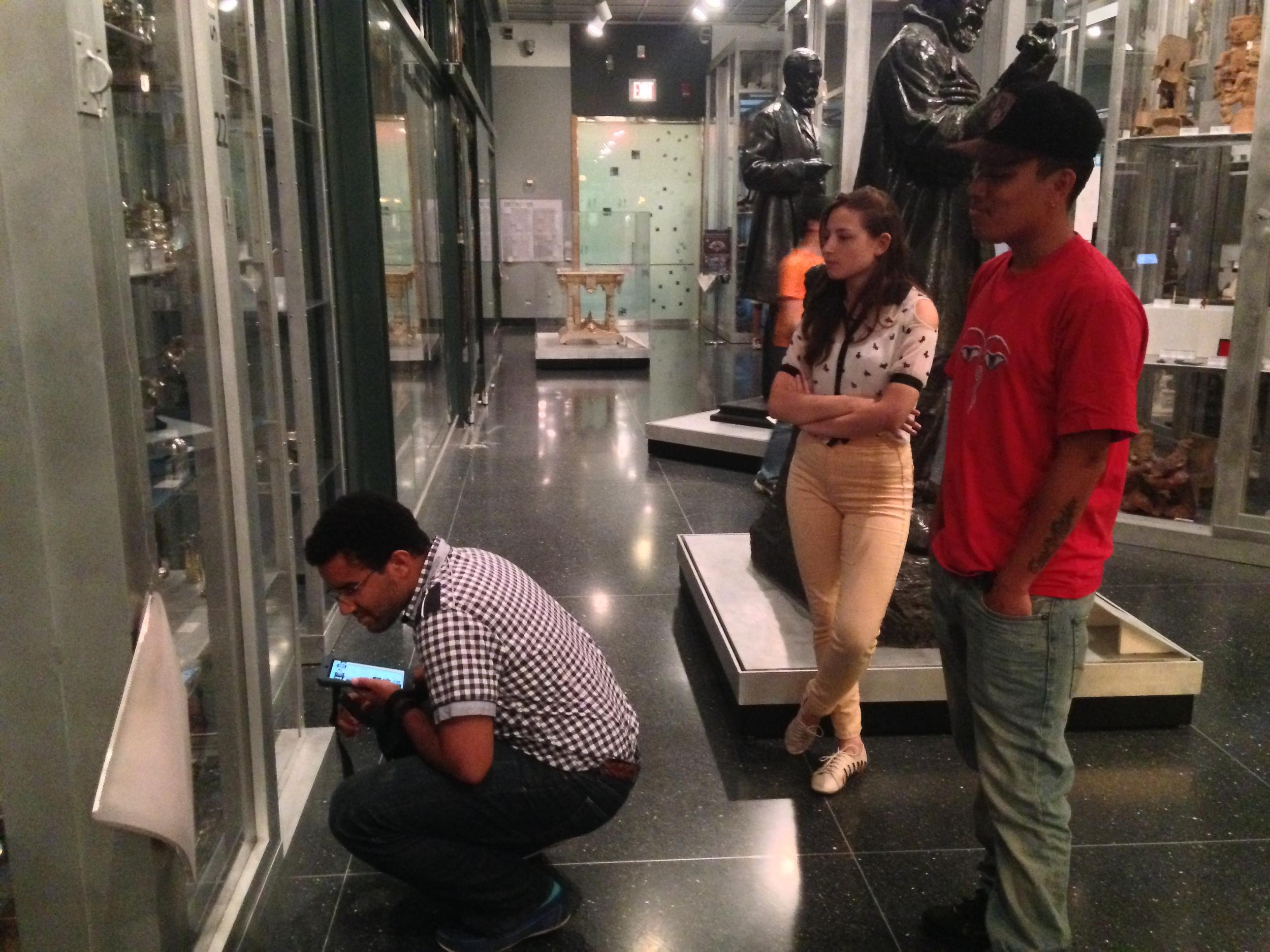 Playtesting with museum staff