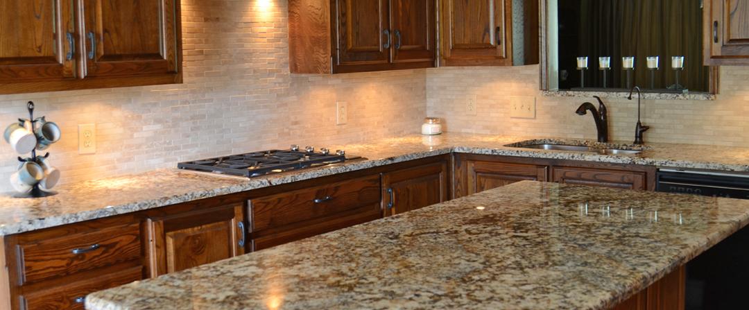 Granite: Star Beach (Kathy's kitchen)