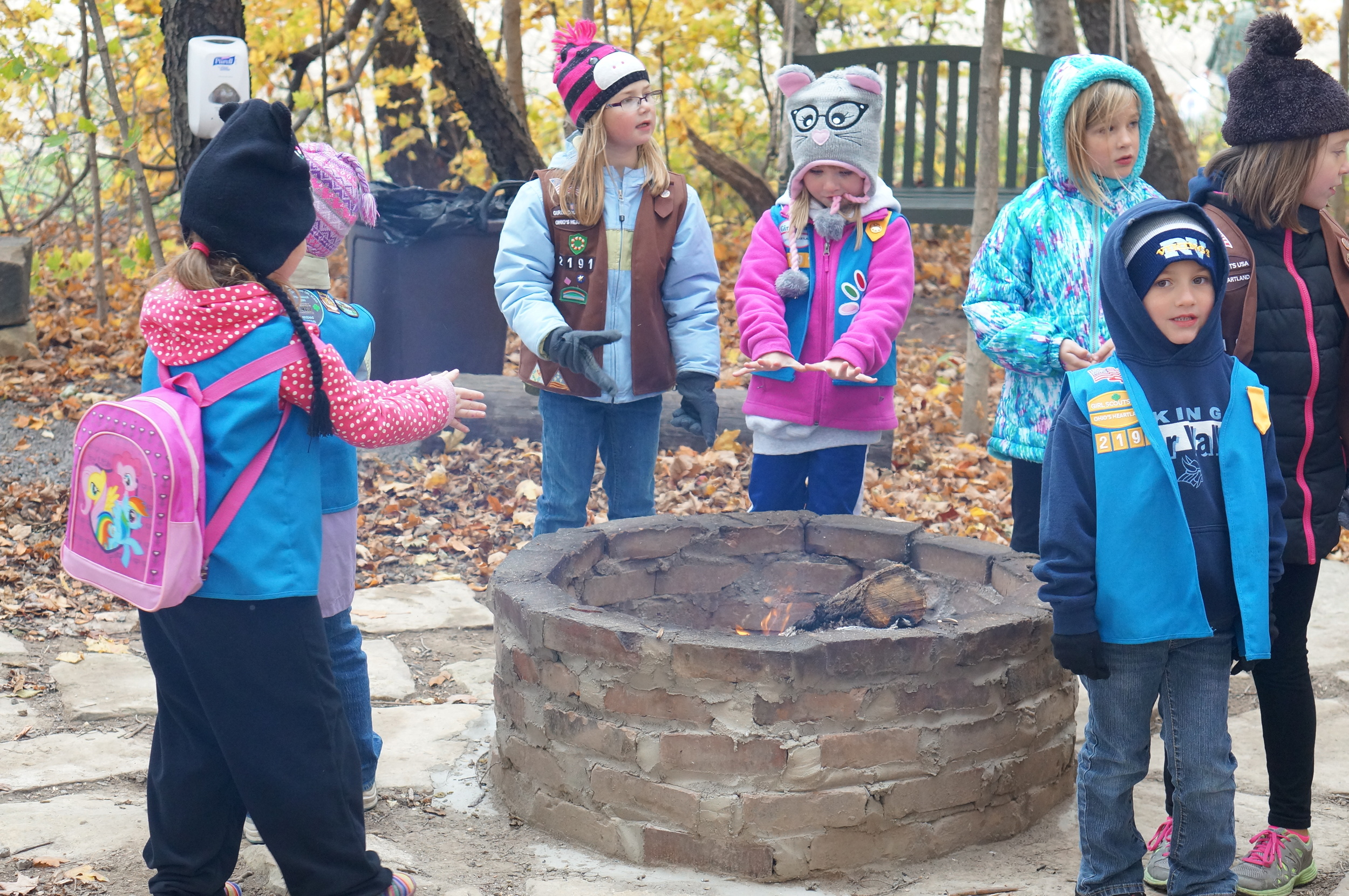 ECO Center Fall Festival Fire Pit