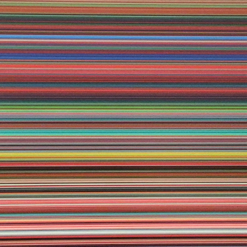 A portion of the Gerhardt Richter digitalized painting at the Tate Modern