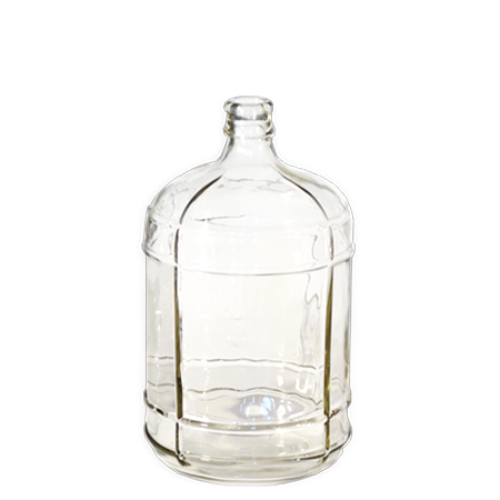 3 Gallon Italian Glass (Carboy) Made in Italy