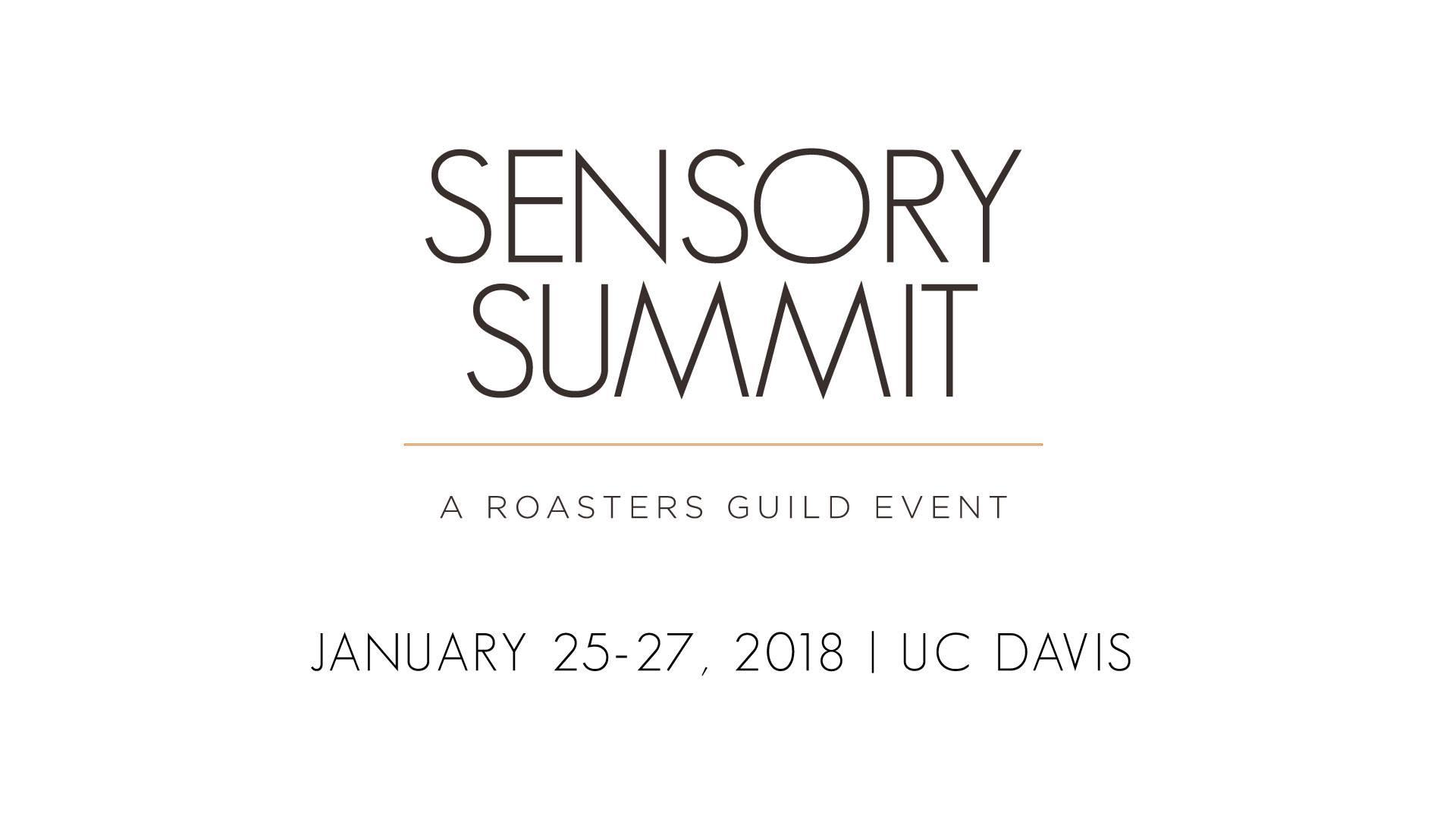 UC Davis Robert Mondavi / Sensory Summit 2018