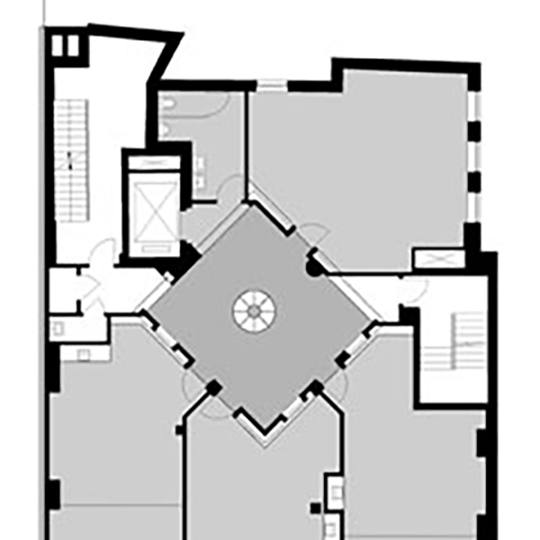 St Ann's 2nd Floor Plan