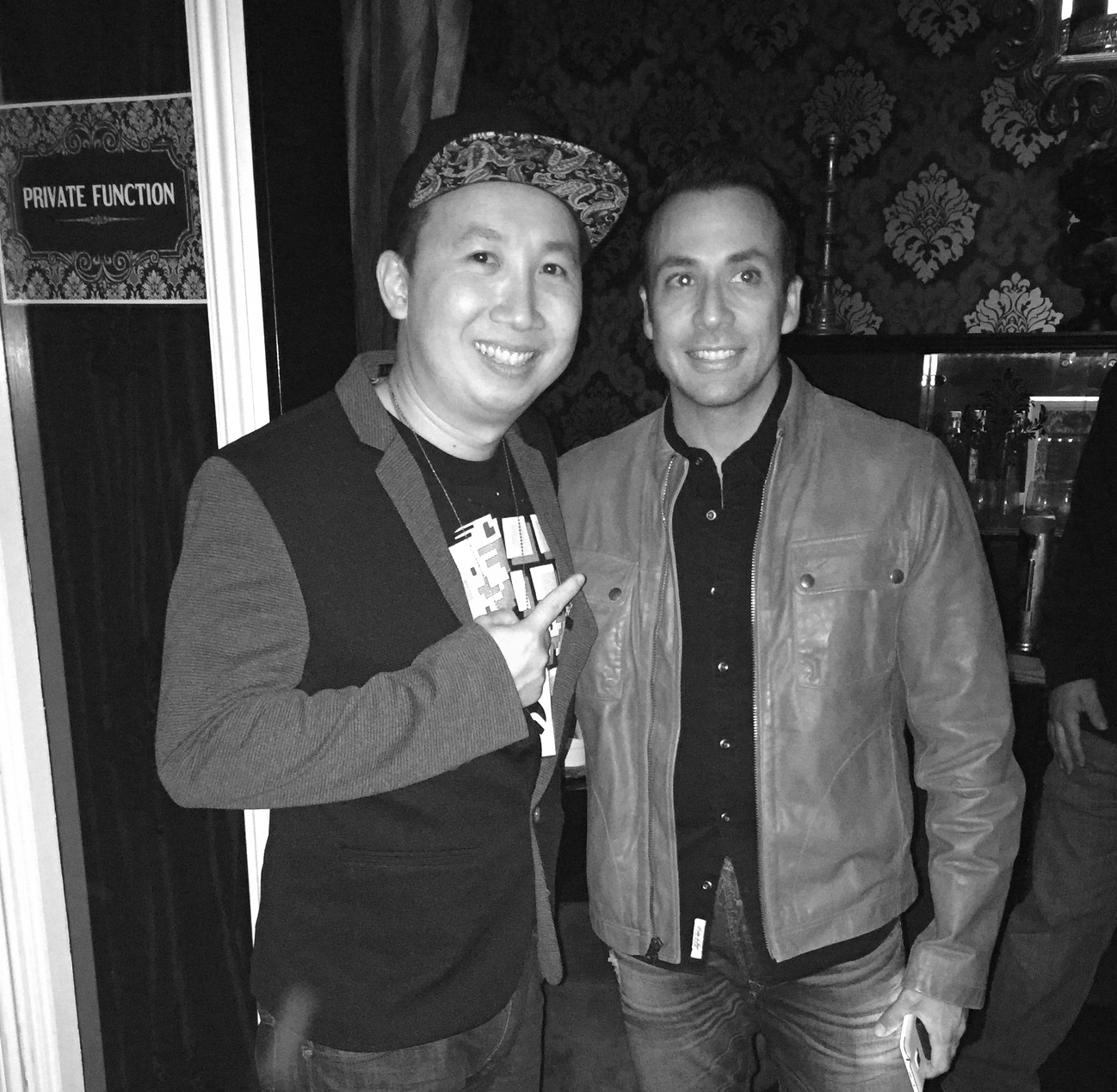 Photo with Howie D from Backstreet Boys
