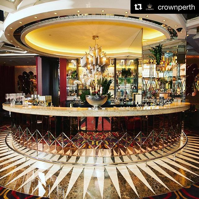 #Repost @crownperth with @get_repost ・・・ Start your weekend with a little luxury and some bubbles in the opulent surrounds of La Vie. #CrownPerth #LaVieChampagneLounge 📷: @zephotography