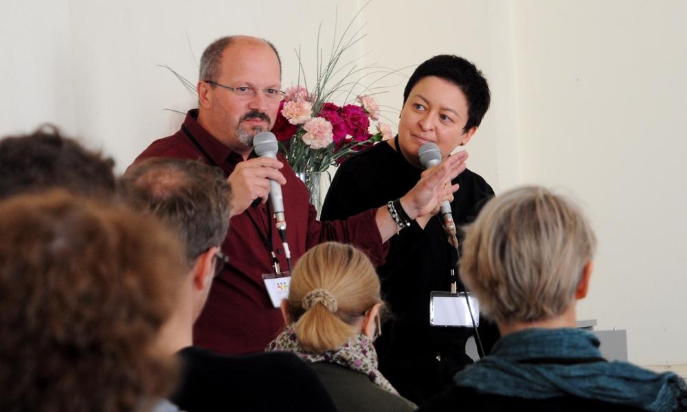 Gianni Francesetti and Agnieszka Nawrot. Image courtesy of PTPG.