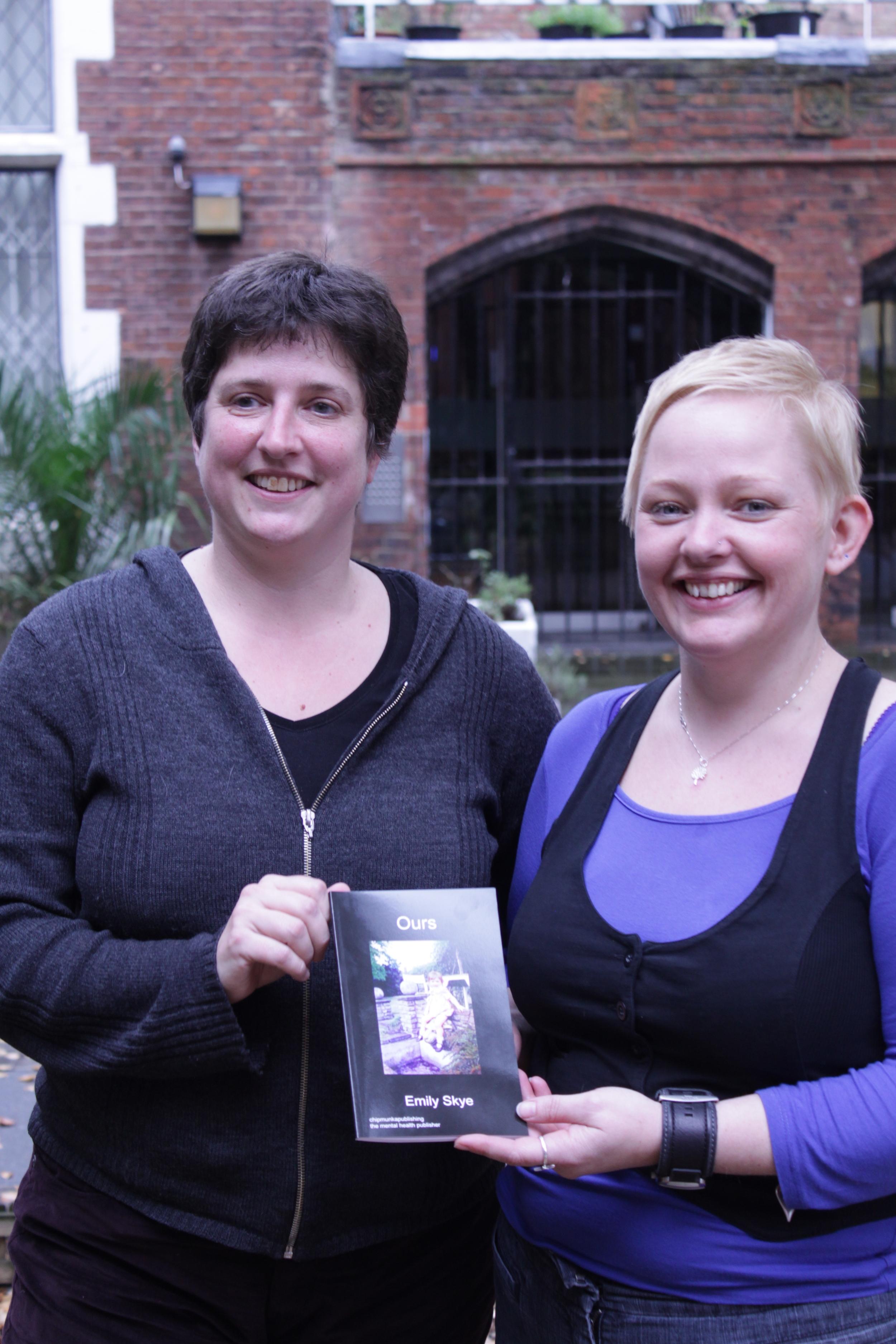 Emily Skye (left) and Kathyrn Morris-Roberts (right). Image Courtesy of the British Gestalt Journal.