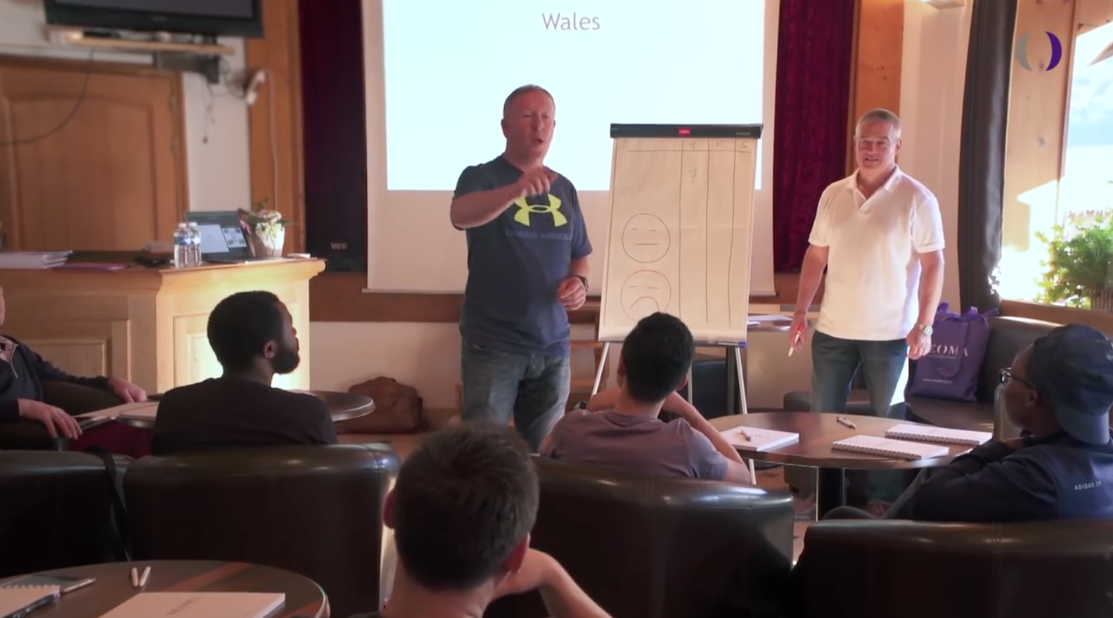 Neoma, morzine, september 2016 with elite sports coach andy mccann of dna definitive