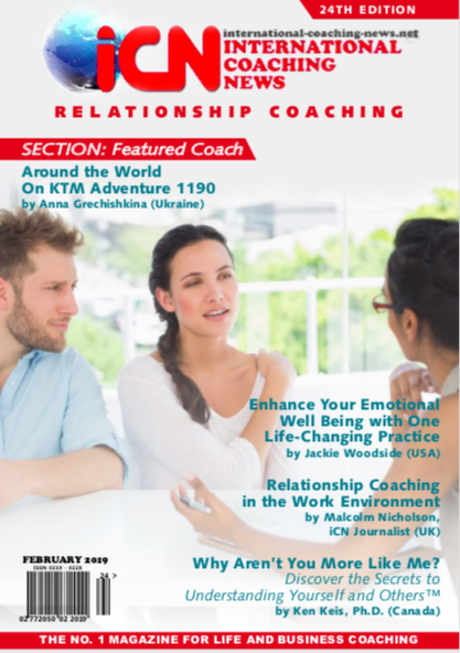 international coaching news edition 24  relationship coaching in the work environment