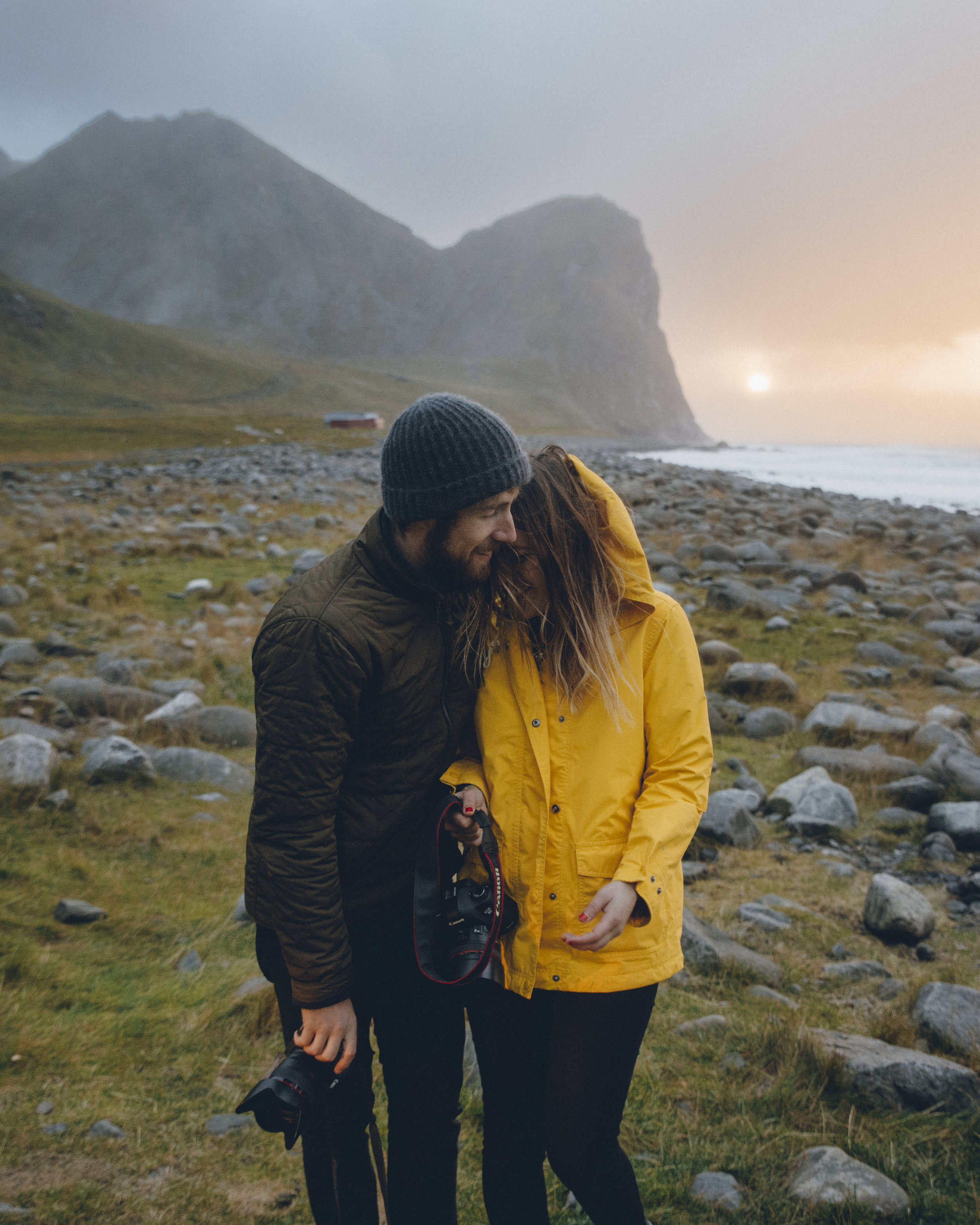 Alex Strohl and Andrea Dabene