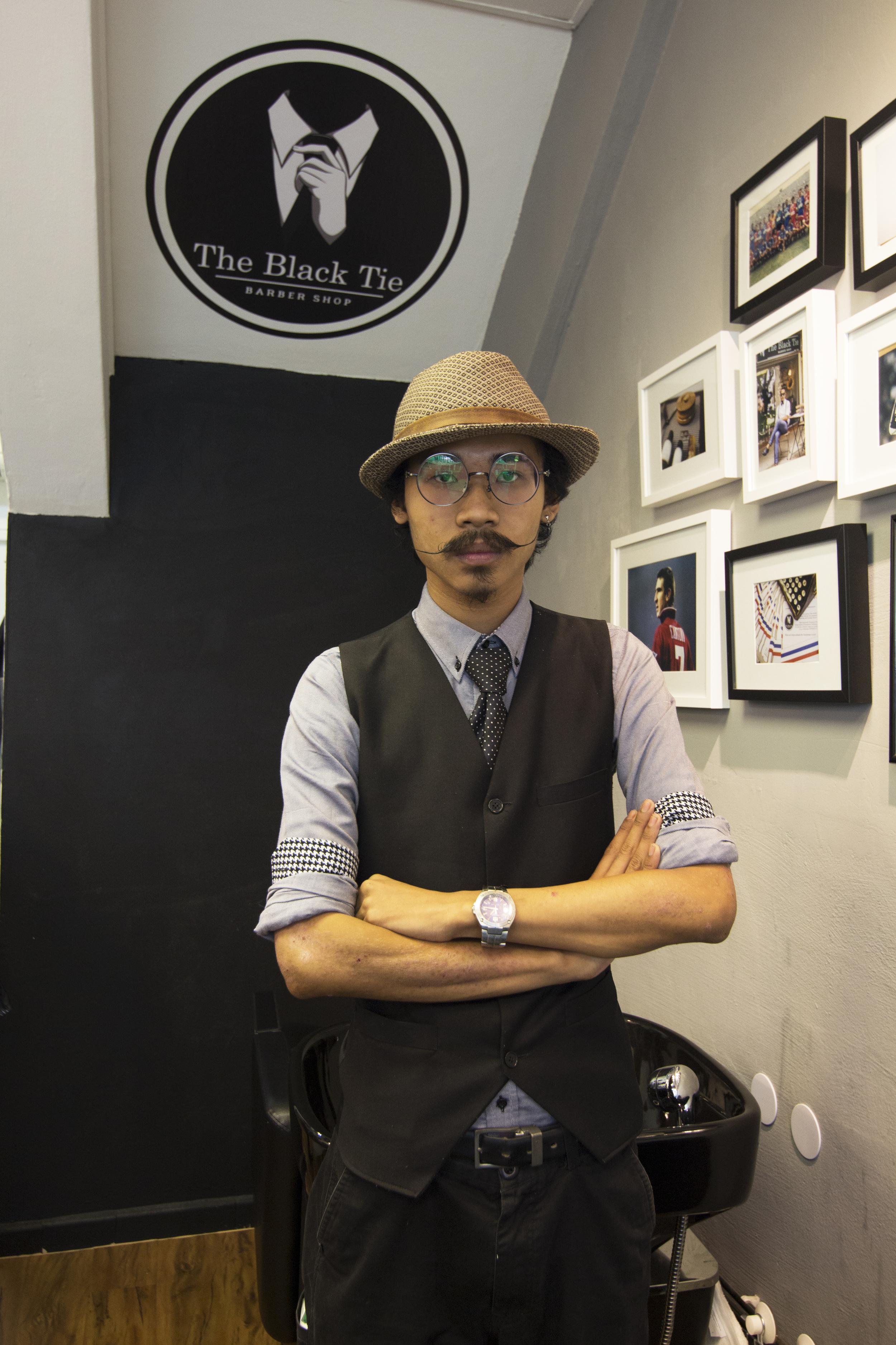 Jacky Chan a.k.a Barber Jacky