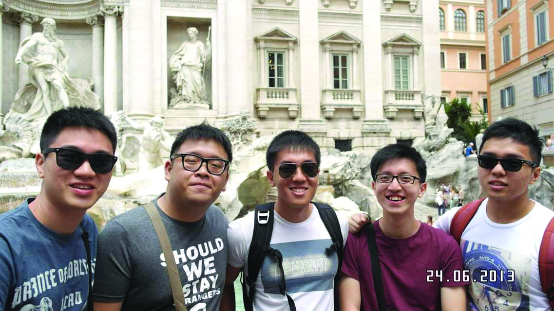 Luke Li, 28, graduated from Singapore Institute of Technology (SIT) in 2014 with a degree in Chemical Engineering.