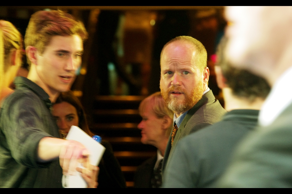 """Also in (brief) attendance - director Joss Whedon, who directed (but did not attend the premiere of) """"The Avengers"""" but did drop by for  Much Ado About Nothing , and cameo'd at the premiere of  Thor The Dark World"""