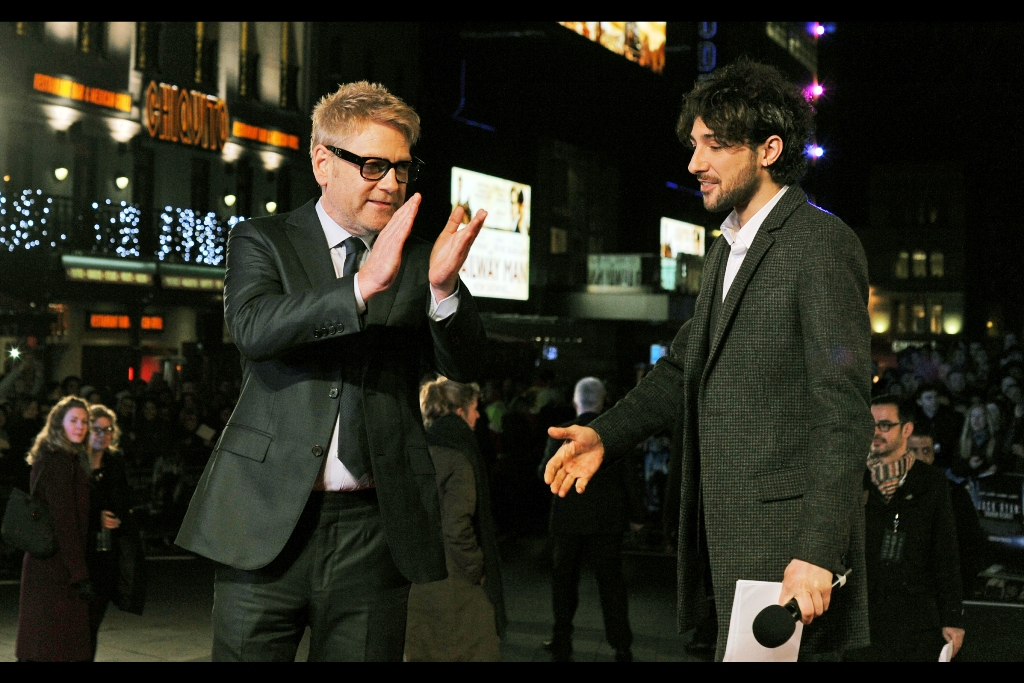 """""""Ladies and Gentlemen and Kenneth Branagh, put your hands together for the triumphant return of Kenneth Branagh!!""""  I last photographed him way back in 2010 for  the world premiere of Thor  when I was still back in Sydney, Australia."""