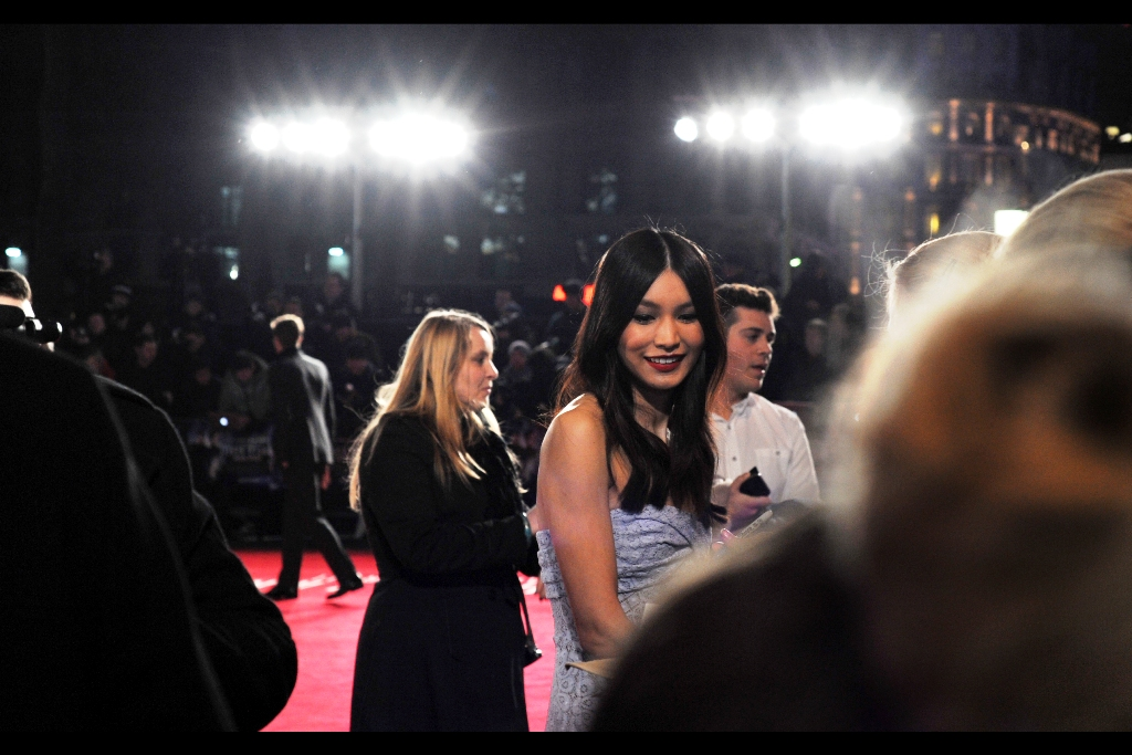 Late arrival but triumphant nonetheless was Gemma Chan who plays the similarly named 'Amy Chang' in the film. A quick scan of imdb reveals she has been in numerous movies and TV shows, none of which I've watched. I choose not to apologise for the fact that I don't watch much TV, though.