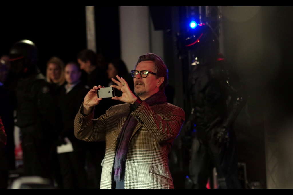 """I'm totally going to sell this to your agency. If I can figure out how to upload it. Bear with me, guys""  Gary Oldman is pretty awesome, lack-of-green-corduroy-jacket notwithstanding."
