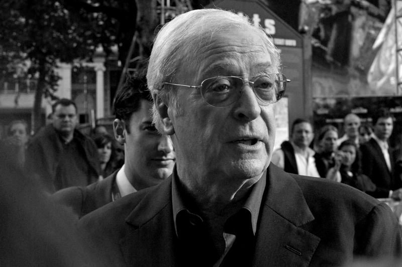 Two Academy Award wins - and yet, I still didn't like Get Carter, and I thought the original Italian Job was fairly wretched. But you go, Sir Caine! (I elected to remain discreet and not broadcast my opinions to the man, or the crowd of locals around me)