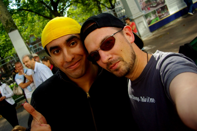 Oh, but I did get to meet Yellow Cap Guy - surely that's some measure of fame and success?!!