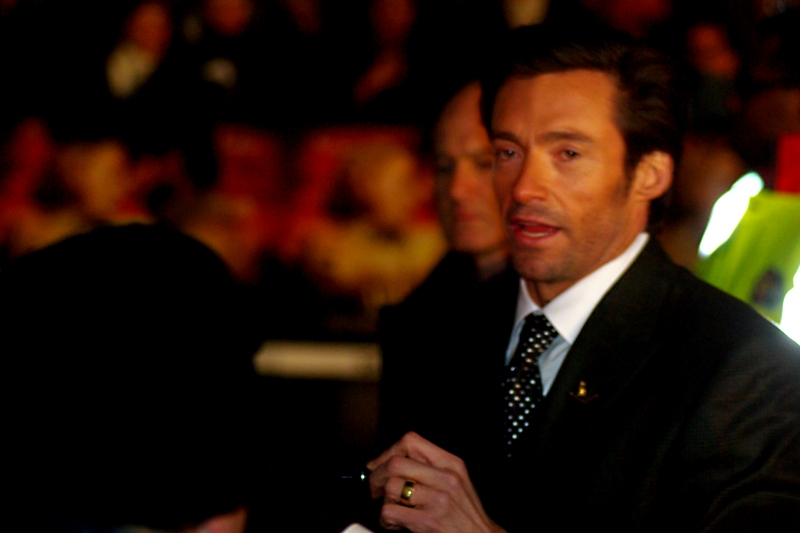 """No, I will not apologise for Van Helsing. But I respect your opinion that it was utter crap"".  Hugh Jackman is indeed a very polite person.... no wonder everyone's auntie loves him."