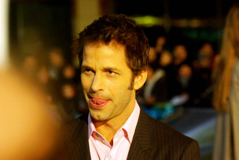 Zack Snyder, director of '300' and now 'Watchmen'. He's the only person in this film I'd definitely heard of going to the premiere, but i'll admit I had no firm idea until I checked the net what he looked like.