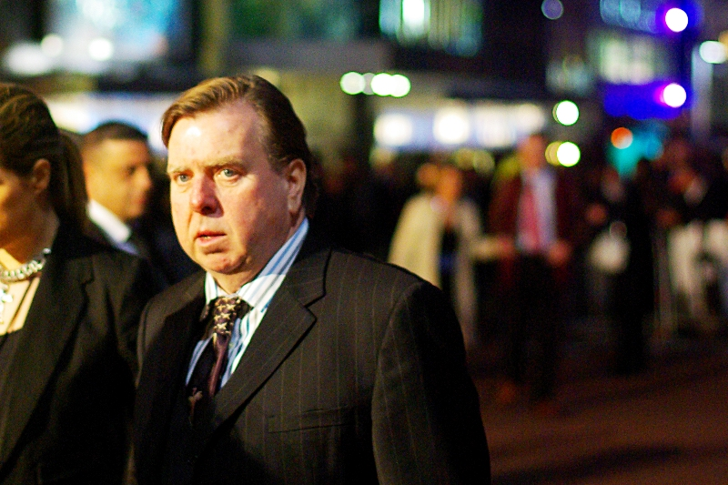 "If you'd said Timothy Spall would be attending tonight's premiere I probably wouldn't have reacted. However if you'd said ""Wormtail from Harry Potter"" was coming I would have... well I would have come anyway. I'm kind of like that."