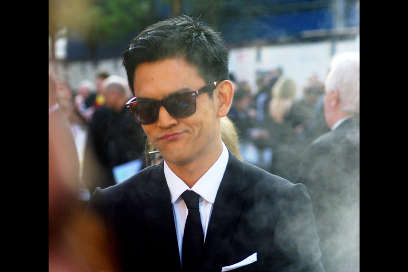 John Cho, meanwhile, is content merely to be cool above all else.