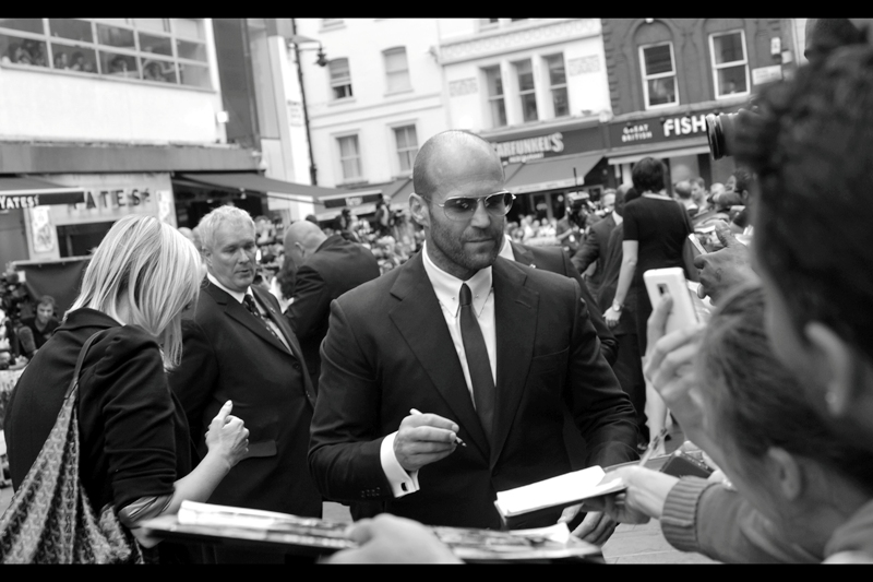 I got Jason Statham's autograph at the prior Expendables premiere back in 2012... as a balding white guy he's certainly a hero of mine. We have so few outside of Nobel Laureates and 60-70 year olds.