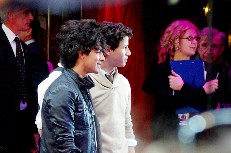 The Jonas Brothers. Three guys joined by friendship, genetics, and possibly a single sentient mass of hair.