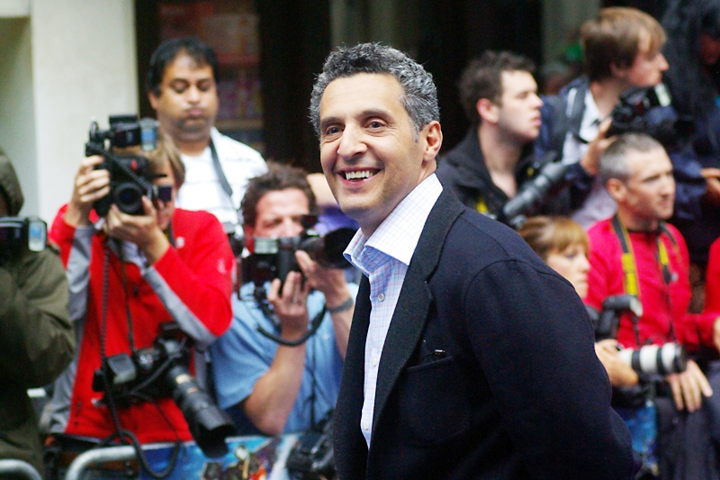 We have our first arrival - actor John Turturro, who may or may not have been wearing his awesome hawaiian boxers and 'Sector Seven' singlet under his suit....